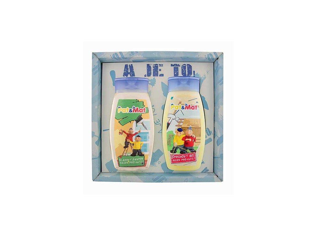Bohemia Gifts Sada Pat a Mat gel 250ml a šampon 250ml - truhláři