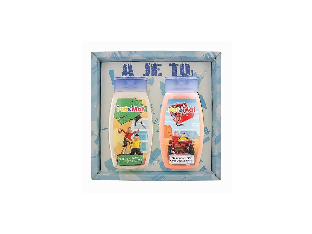 Bohemia Gifts Sada Pat a Mat gel 250ml a šampon 250ml - mechanici