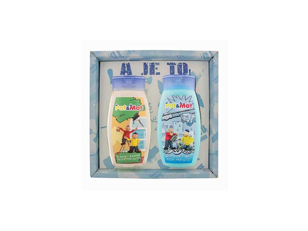 Bohemia Gifts Sada Pat a Mat gel 250ml a šampon 250ml - instalatéři