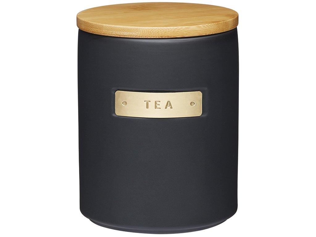 Kitchen Craft - Keramická dóza na čaj Masterclass /12*16 cm/ -  1200 ml