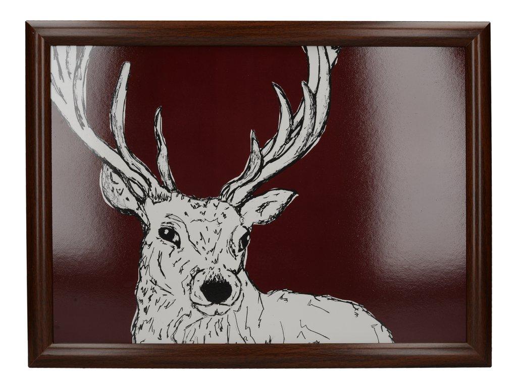 Creative Tops - Servírovací tác s polštářem Into The Wild /36*36 cm/