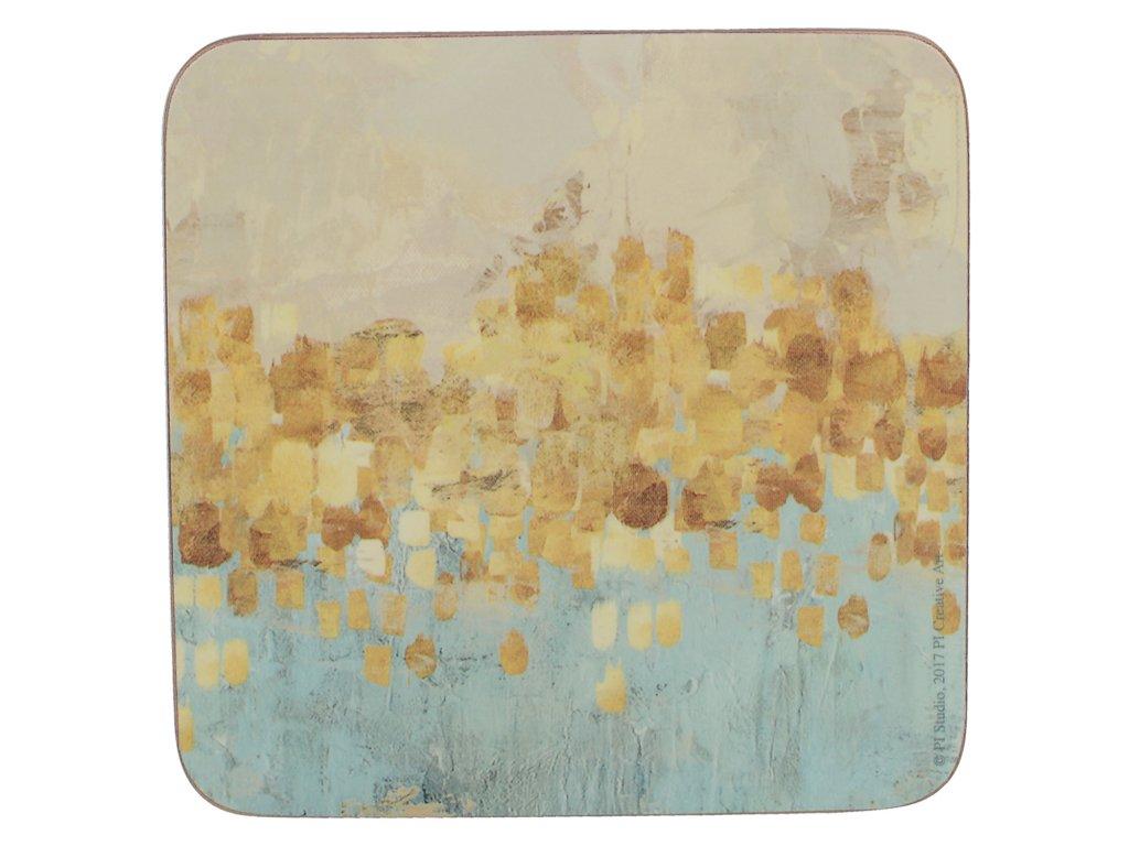 Creative Tops - Korkové podložky Golden Reflections /10,5*10,5 cm/ - 6 ks v balení