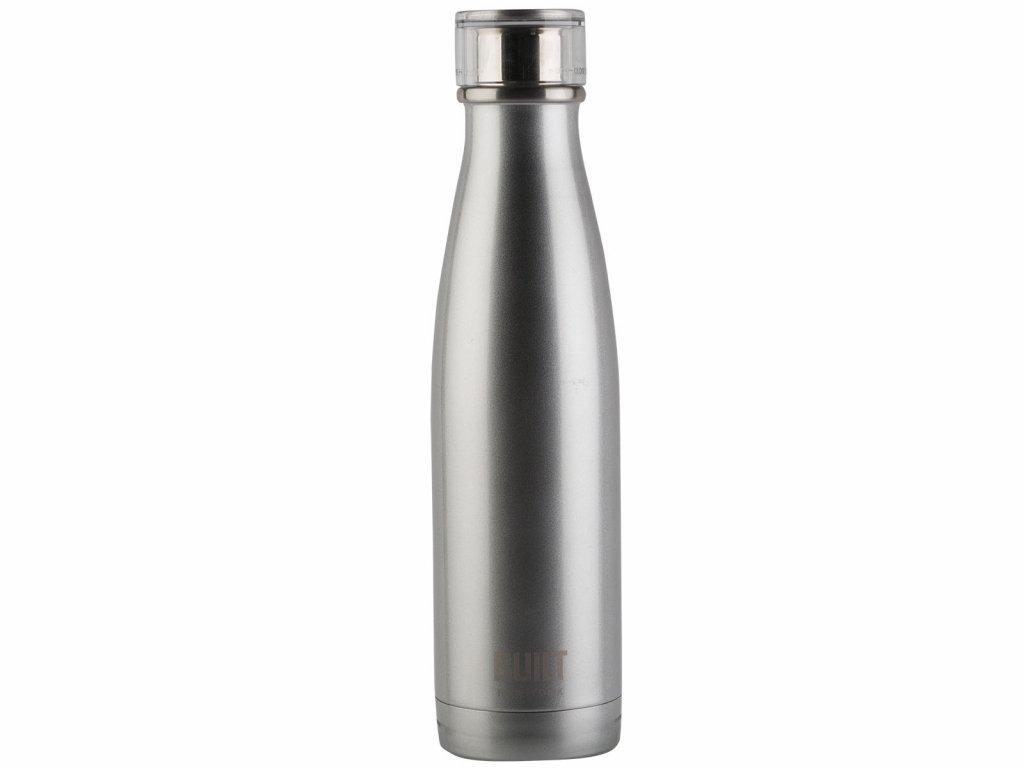 Creative Tops - Láhev na vodu Built stříbrná - 480ml