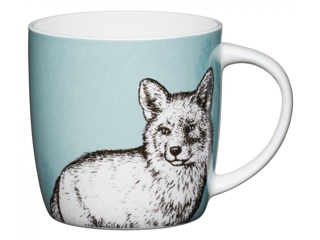 Kitchen Craft - Porcelánový hrníček Fox - 425 ml