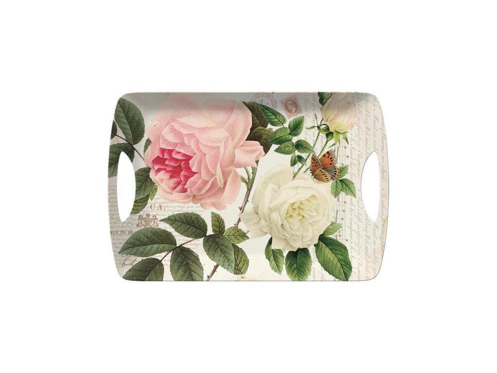 Melaminový tác Rose Garden velký