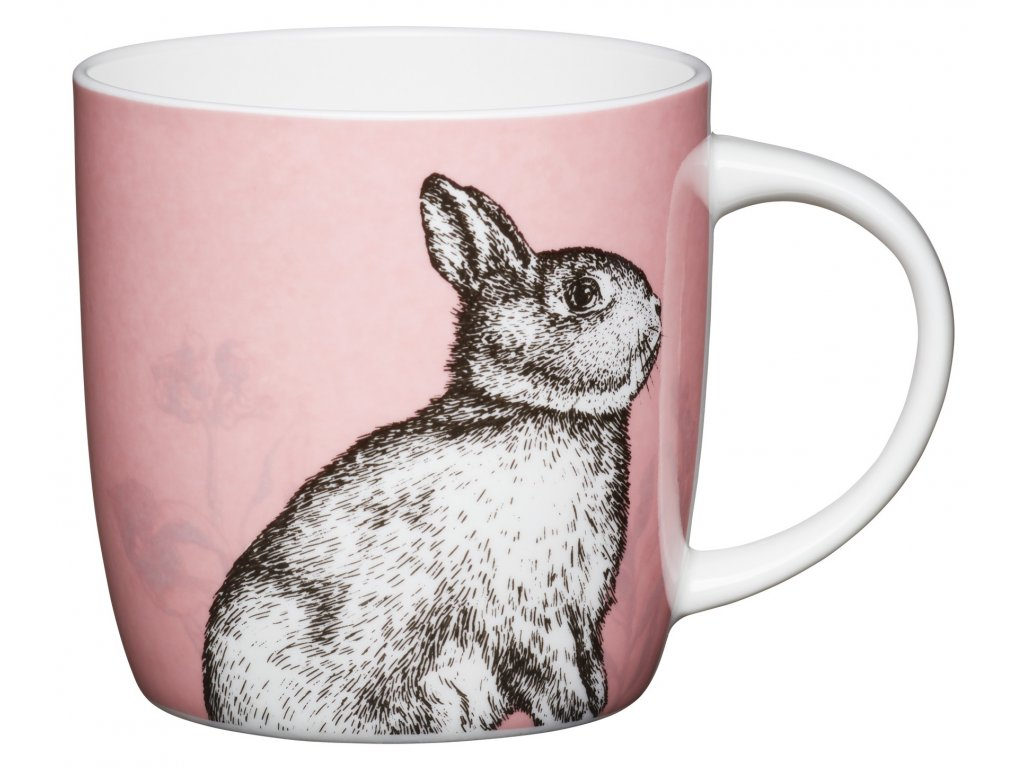 Kitchen Craft - Porcelánový hrníček Rabbit - 425 ml