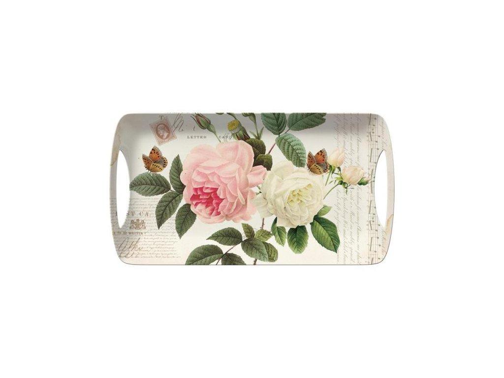 Melaminový tác Rose Garden malý