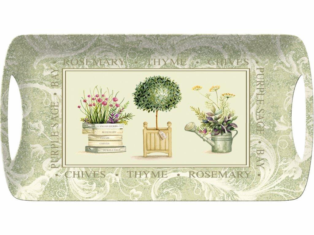 Creative Tops - Melaminový tác Topiary malý /38*20 cm/