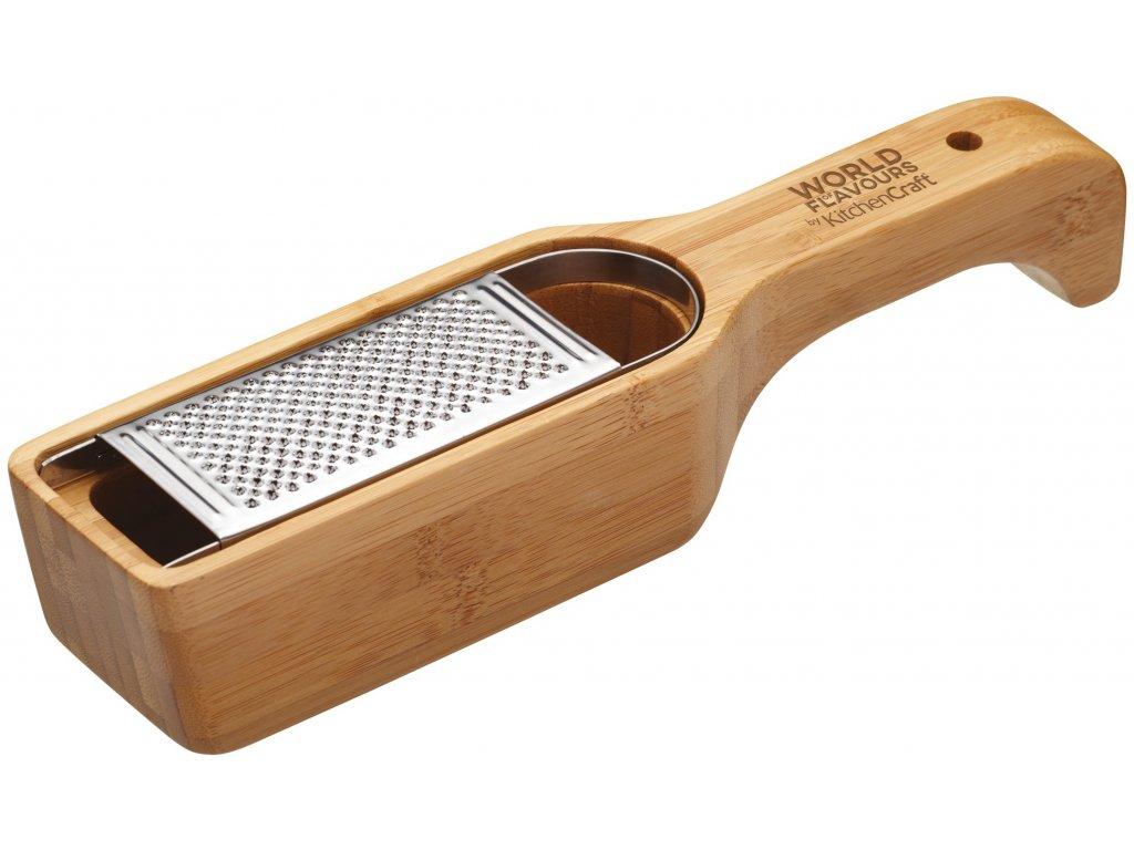 Kitchen Craft - Dřevěné struhadlo na parmazán