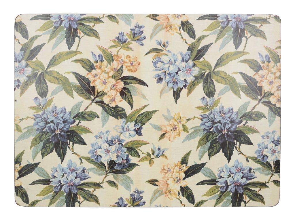 Creative Tops - Korkové prostírání Traditional Floral velké /40*29 cm/ - 4 ks v balení