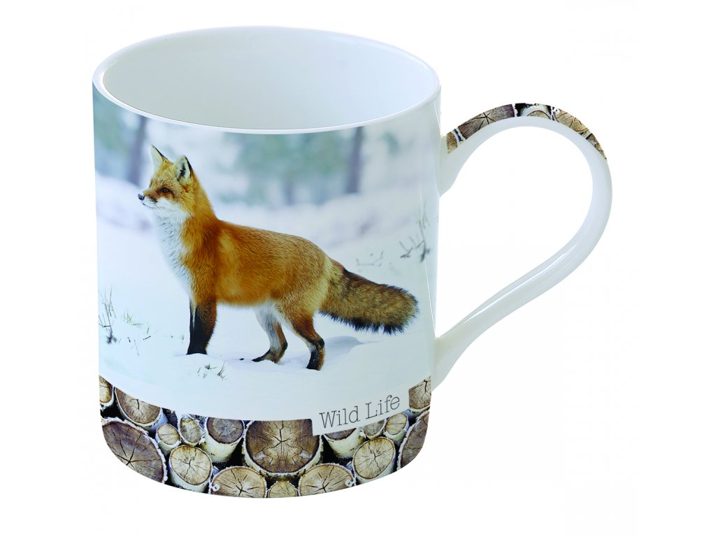 Easy Life - Porcelánový hrnek Red Fox - Objem 350 ml