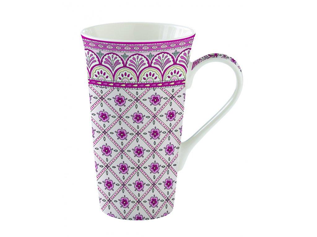 Easy Life - Porcelánový hrnek velký Monsoon Pink - 600 ml