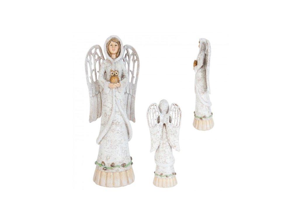 Anděl se sovičkou