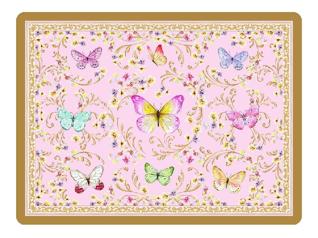 Korkové prostírání Majestic Butterflies