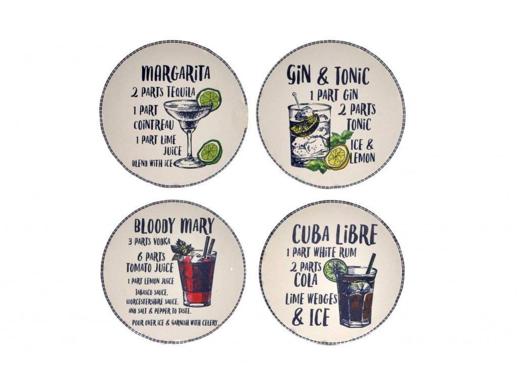 Podtácky pod míchané nápoje  COCKTAIL