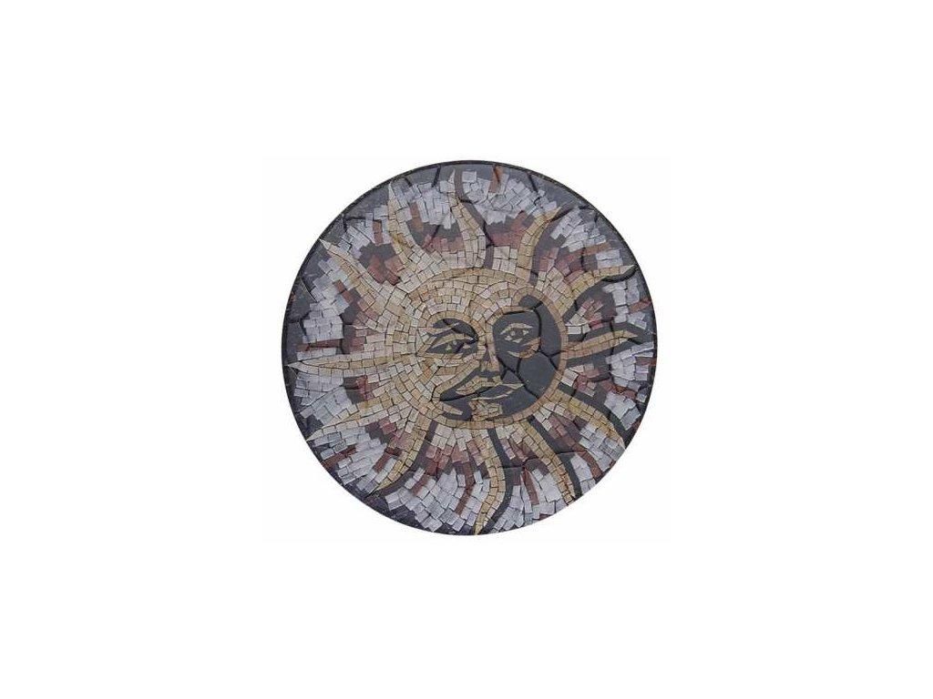 Podložka pod hrnec s motivem sluníčka