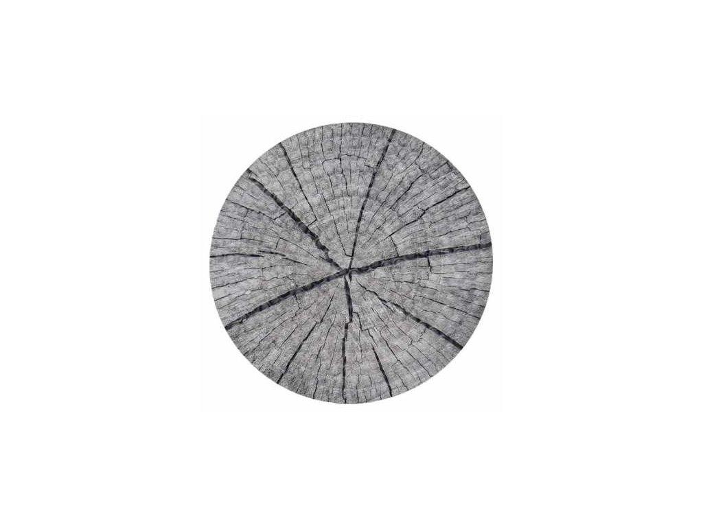 Podložka pod hrnec - design řez dřeva