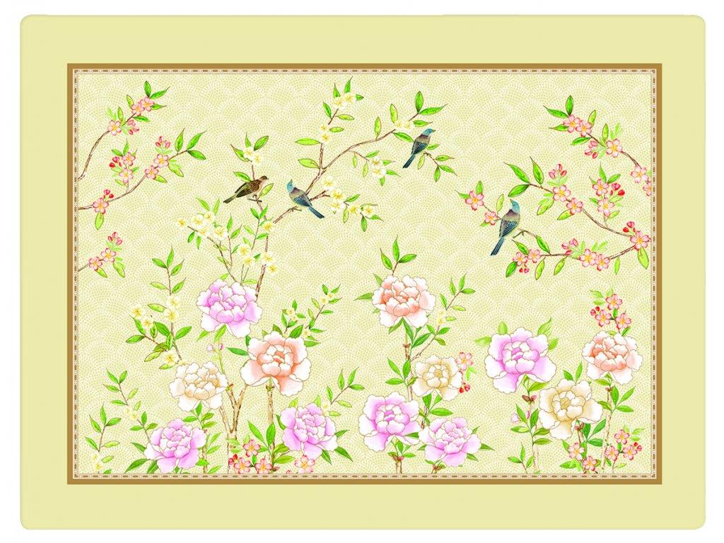 Easy Life - Korkové prostírání Palace Garden Fresco - Balení obsahuje 4 kusy