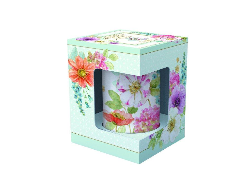 Easy Life - Porcelánový hrnek Cottage Flower - 250 ml