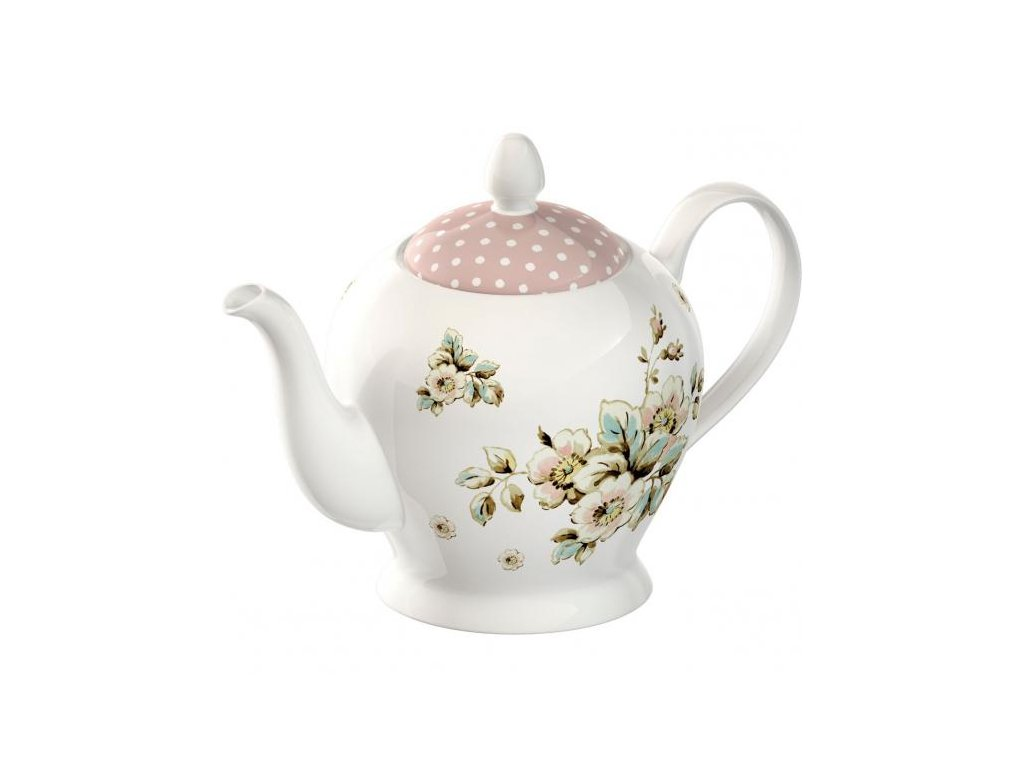 Creative Tops - Porcelánová konvice na čaj Cottage Flower - 1100 ml