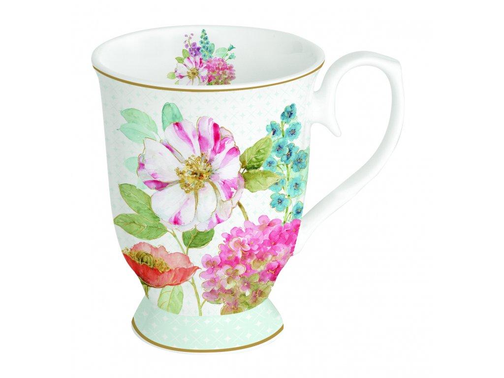 Easy Life - Porcelánový hrnek Cottage Flower - 300 ml