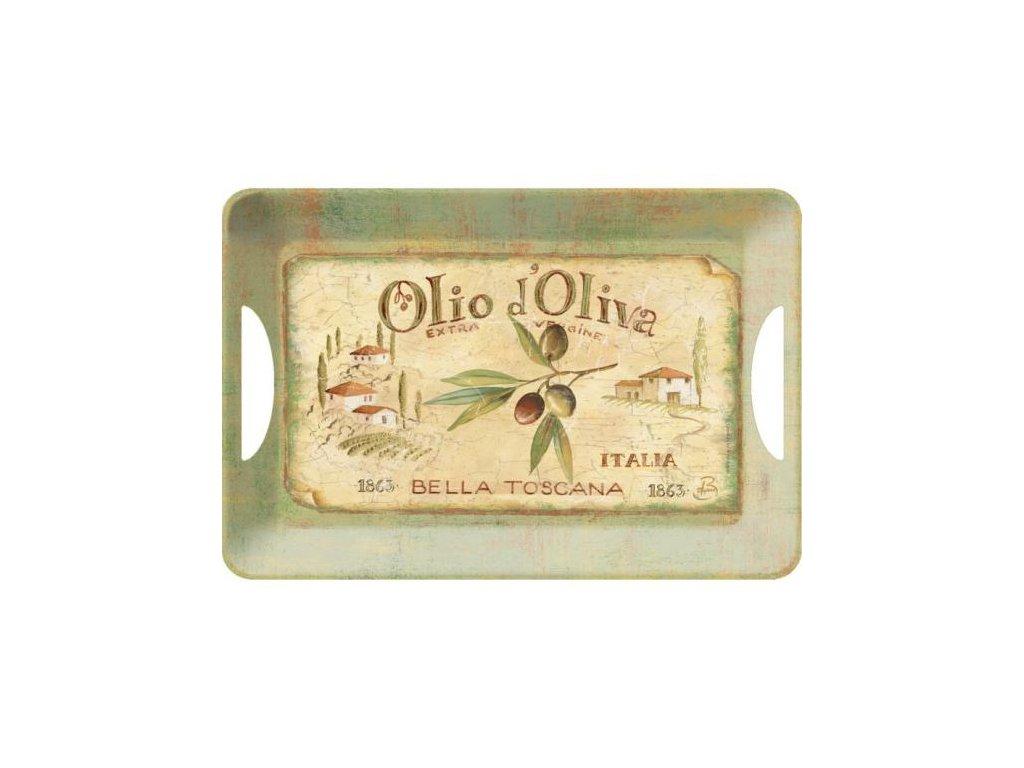 Melaminový tác Olio D´Oliva velký