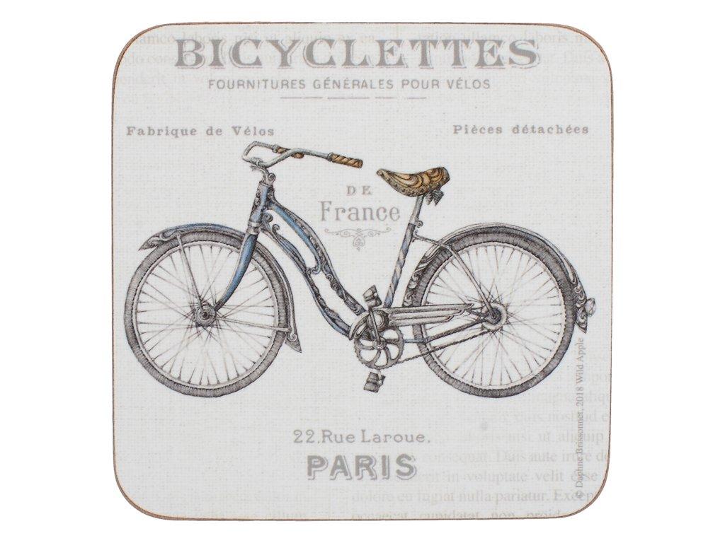 Creative Tops - Korkové podložky Bicycle /10,5*10,5 cm/ - 6 ks v balení