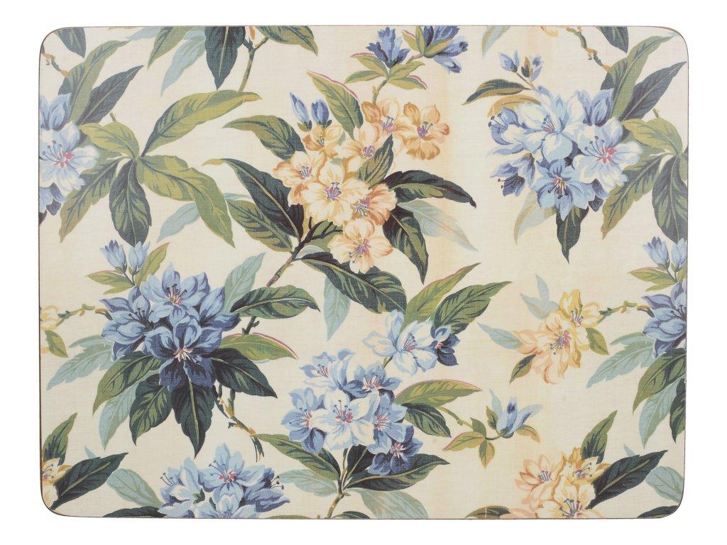 Creative Tops - Korkové prostírání Traditional Floral malé /29*21 cm/ - 6 ks v balení