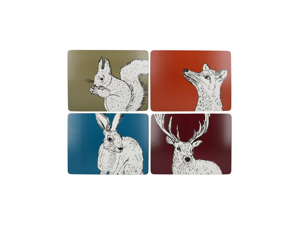 Creative Tops - Korkové prostírání Into The Wild /30*22,8 cm/ - 4 ks v balení