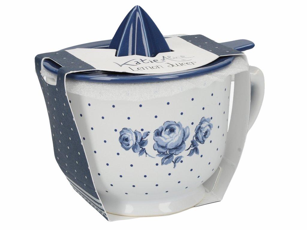 Creative Tops - Porcelánový lis na citrusy Vintage Indigo