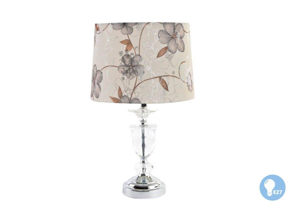 """Lampa stolní """"FLOWERY"""" 28x48cm (E27)"""