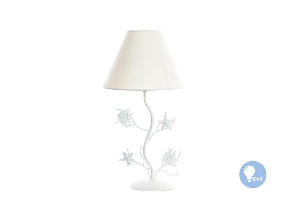 "IN - Stolní lampa ""RYBKY"" - kov 46x25cm"