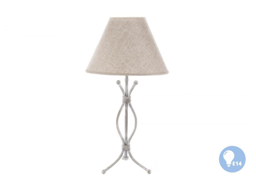 """IN - Lampa stolní """"NATURAL-metal""""  - 22*44cm"""