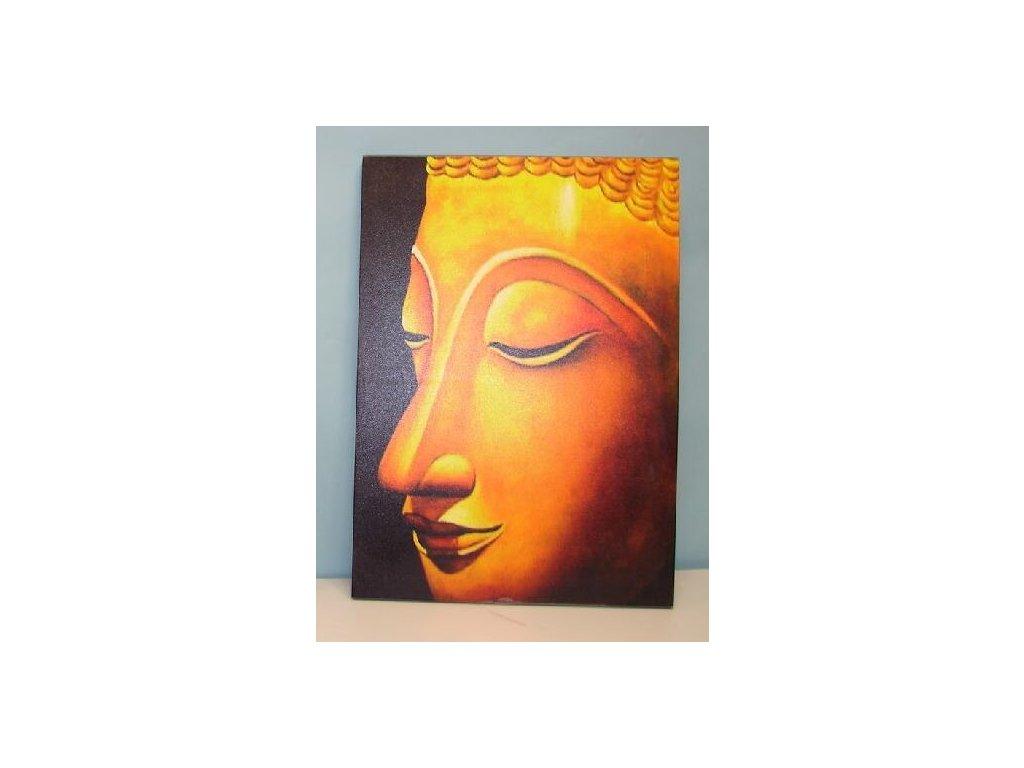 """Obraz """"BUDDHA-HEAD"""" - 50*70*2 cm"""