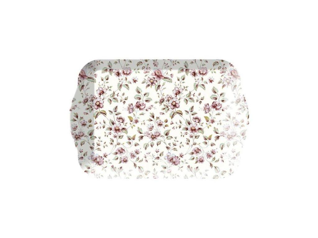 Creative Tops - Melaminový tácek Ditsy Floral malý /21*14,5*1,5 cm/