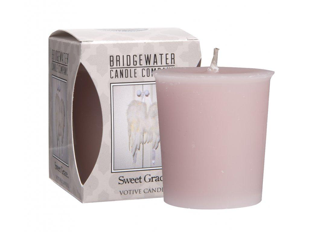 Bridgewater Candles - Votivní svíčka Sweet Grace /andělská křídla/