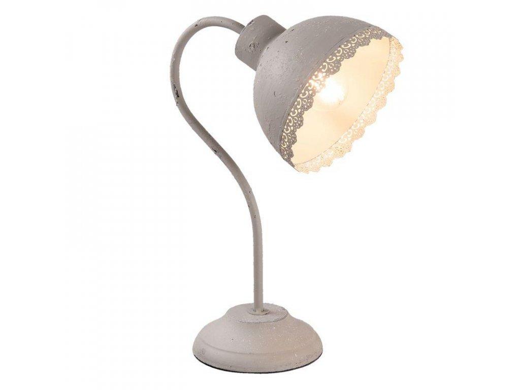 Clayre & Eef - Industriální stolní lampa  - 15*25*35 cm / E27/max 1*60W
