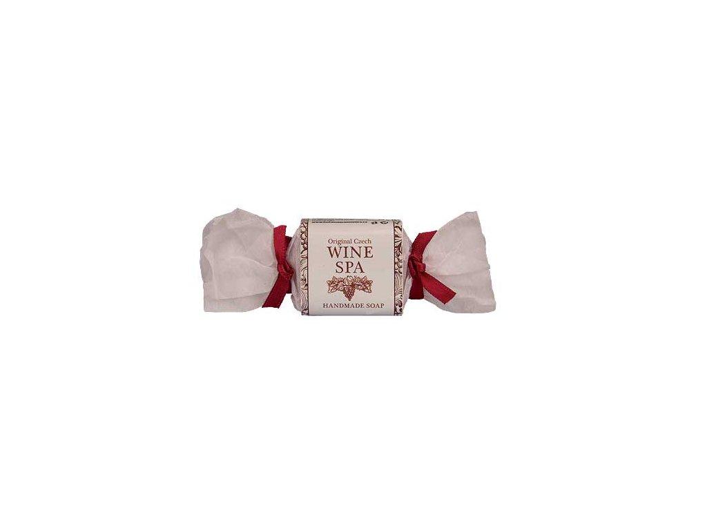 Bohemia Gifts Wine Spa ručně vyráběné mýdlo 30 g – vinná réva