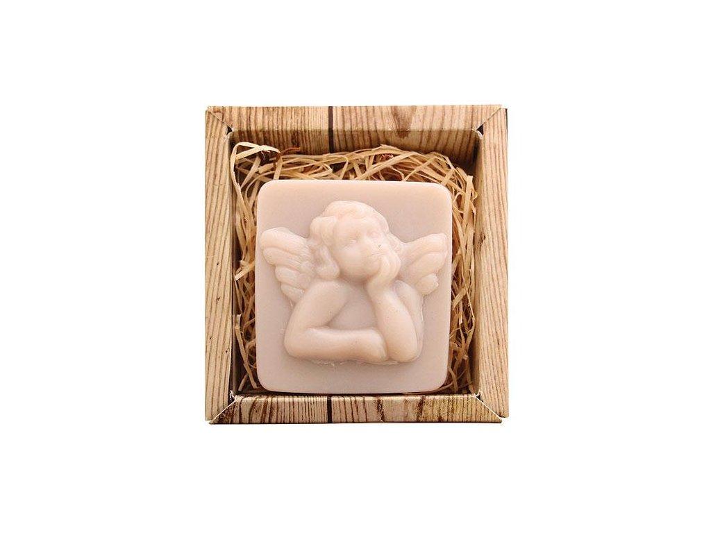 Bohemia Gifts Ručně vyráběné tvarované mýdlo 80 g - anděl