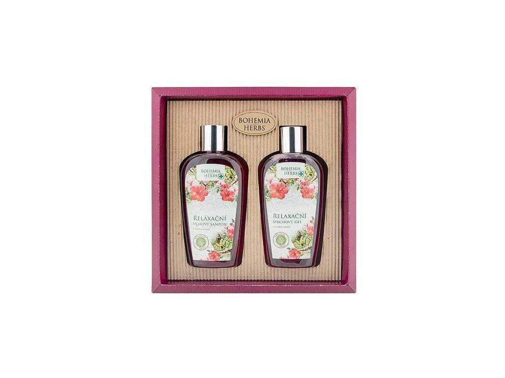 Bohemia Herbs Kosmetická sada - gel 250ml a šampon 250ml – hadí jed