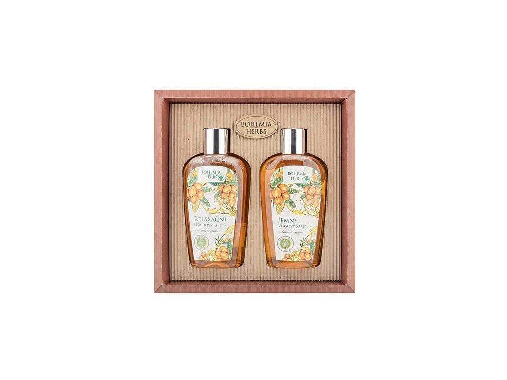 Bohemia Gifts Kosmetická sada argan - sprchový gel 250 ml a šampon 250ml