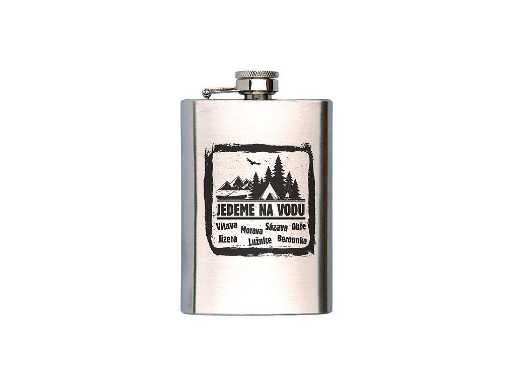 Bohemia Gifts Vodácká placatka na alkohol 200 ml