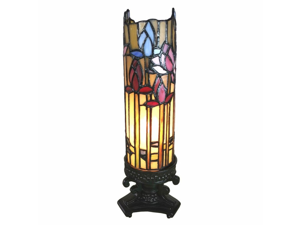 Clayre & Eef - Stolní lampa Tiffany - 13*13*46 cm