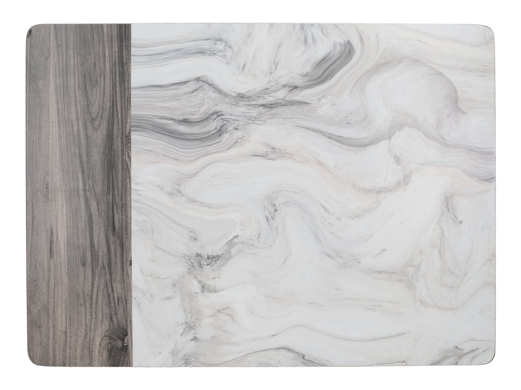 Creative Tops - Korkové prostírání Marble malé /29*21 cm/ - 6 ks v balení