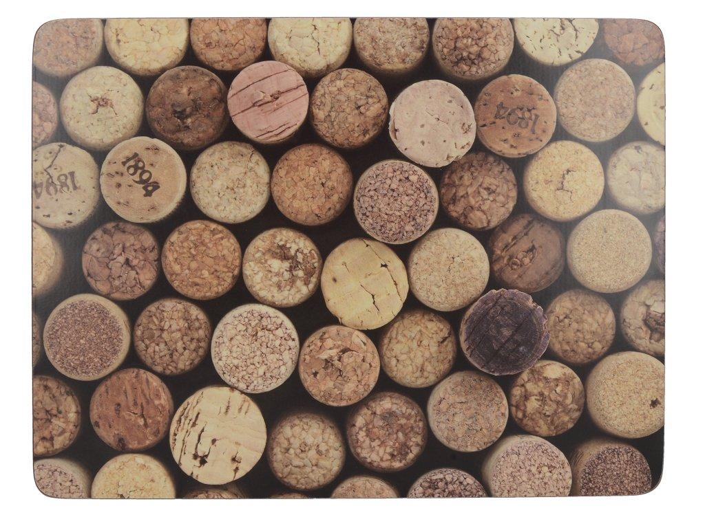 Creative Tops - Korkové prostírání Cork malé /29*21 cm/ - 6 ks v balení