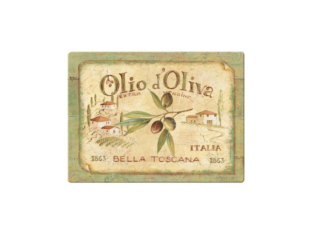Skleněné krájecí prkénko Olio D´Oliva