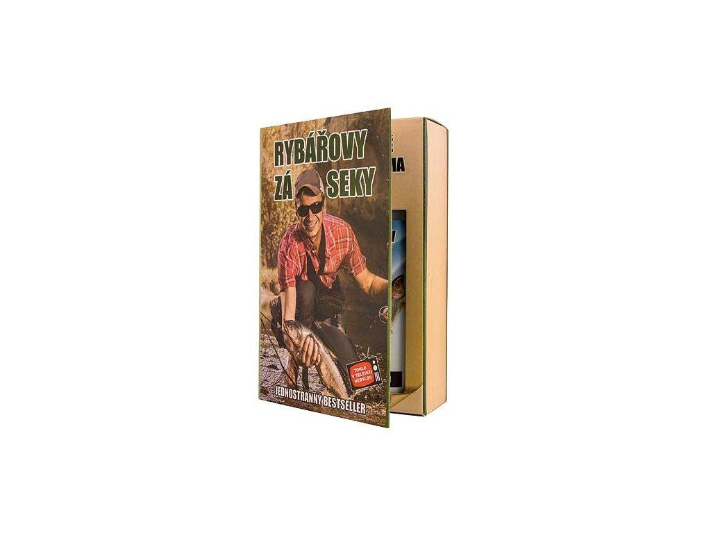Bohemia Gifts Sada kniha pro rybáře – gel 200 ml a šampon 200 ml
