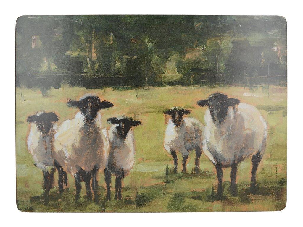 Creative Tops - Korkové prostírání Sheep velké /40*29 cm/