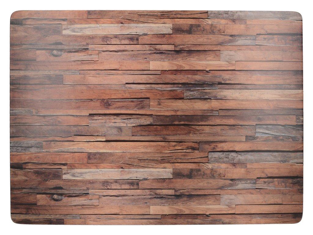 Creative Tops - Korkové prostírání Wood Cabin velké / 40*29 cm/