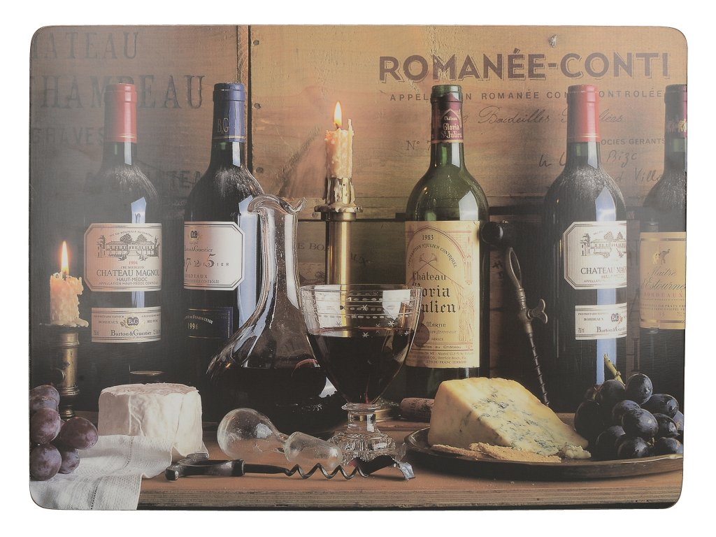 Creative Tops - Korkové prostírání Vintage Wine velké /40*29 cm/